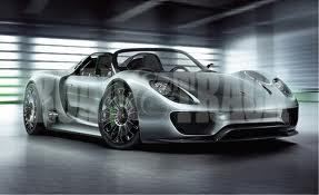 Porsche supercar V8